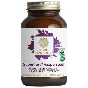 Pure Synergy SuperPure Grape Seed Extract 60 V-Caps