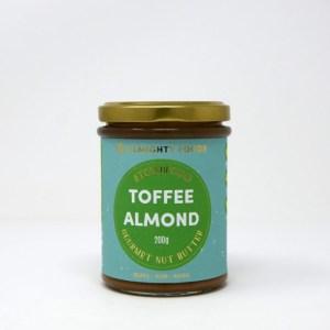 Almighty Foods Biologische Toffee Almond Nut Butter 200 Gram