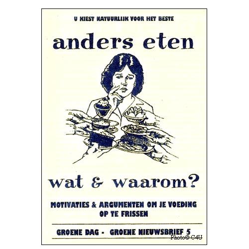 Groene Dag Infoboekje Anders Eten - Wat En Waarom