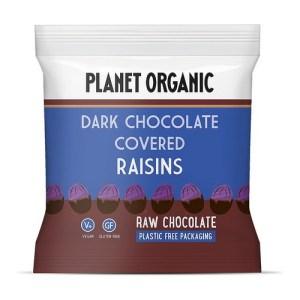 Planet Organic Biologische Dark Chocolate Covered Raisins 40 Gram