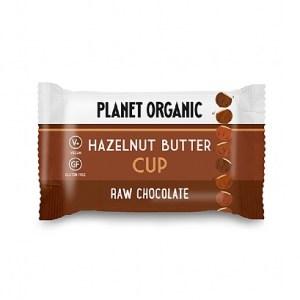 Planet Organic Biologische Hazelnut Butter Cup 25 Gram