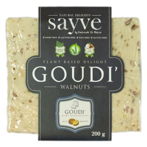 Sayve Biologische Goudi Walnuts 200 Gram