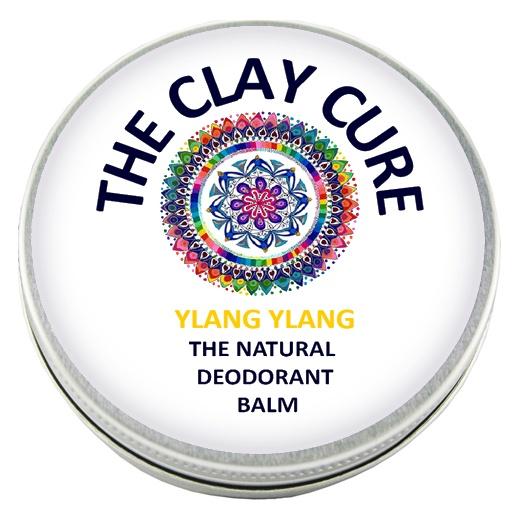 The Clay Cure Ylang Ylang Deodorant Balm 60 Gram