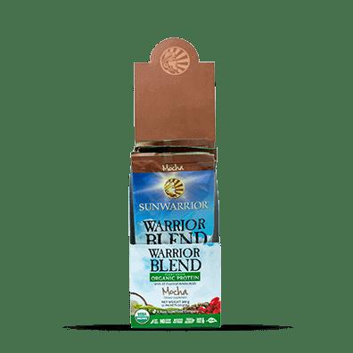 Sunwarrior Warrior Blend Biologische Proteïne Mokka 25 Gram