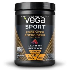 Vega Sport Sugar-Free Energizer Acai Berry 128 Gram