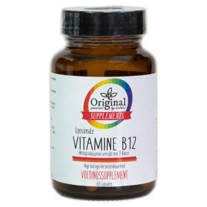 Original Supplements Liposomale B12 60 V-Caps