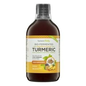 Turmeric Vitality Bio-Fermented Turmeric Pineapple Passion 500 ML Aanbieding