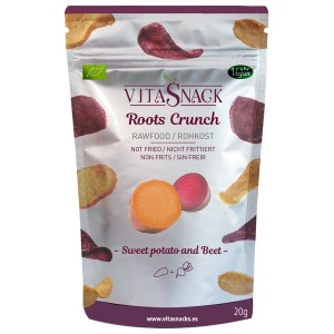VitaSnack Organic Roots Crunch Beetroot and Sweet Potato 20 Gram