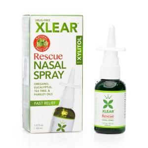 Xlear Rescue Nasal Spray 45 ml