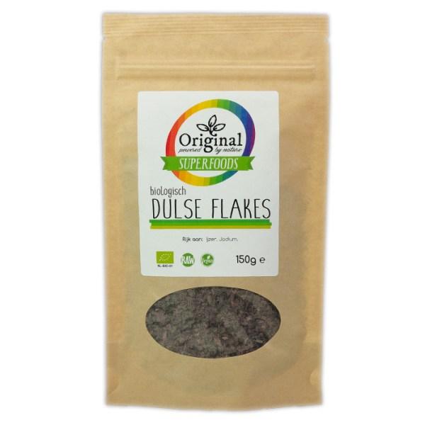 Original Superfoods Biologische Dulse Flakes 150 Gram