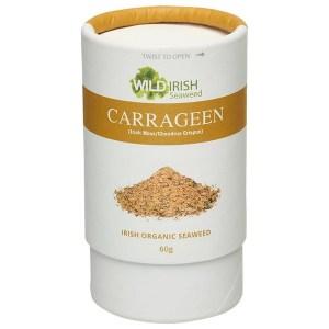Wild Irish Seaweed Biologische Irish Moss/Carrageen Sprinkles 60 Gram