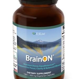 E3Live BrainON 120 V-caps