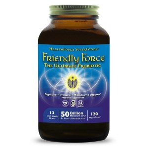 Healthforce Friendly Force Ultimate Probiotic 120 V-Caps