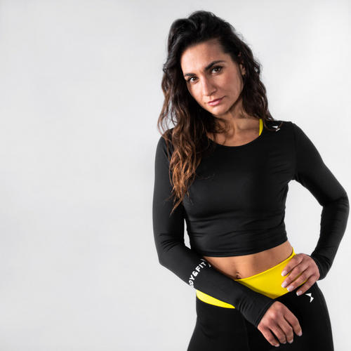 Perfection stretch Cropped top
