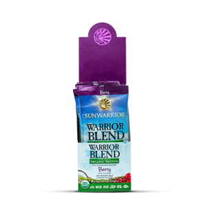 SunWarrior Blend Biologische Proteïne Bessen - 25 gram gezond?