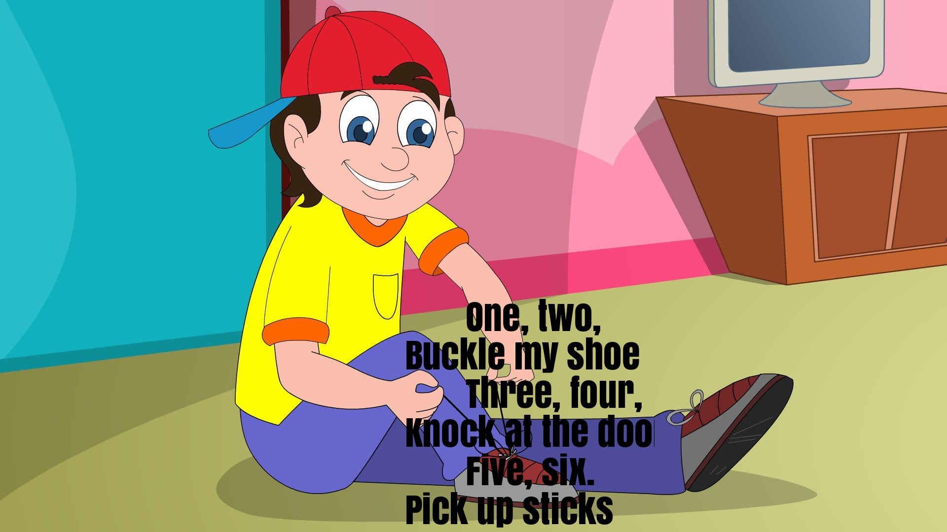 One Two Buckle My Shoe Nursery Rhyme Lyrics Super Fun Baby