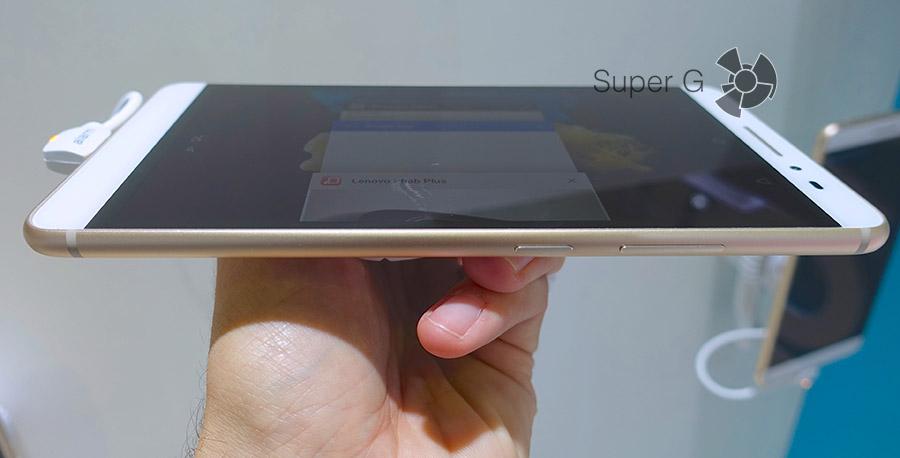 Тонкий планшет Lenovo PHAB Plus