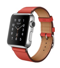 Single Tour 38mm Stainless Steel Case Capucine Leather Band