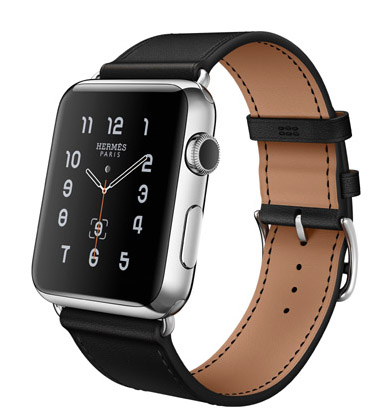Single Tour 42mm Stainless Steel Case Noir Leather Band