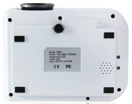 Дно проектора H809