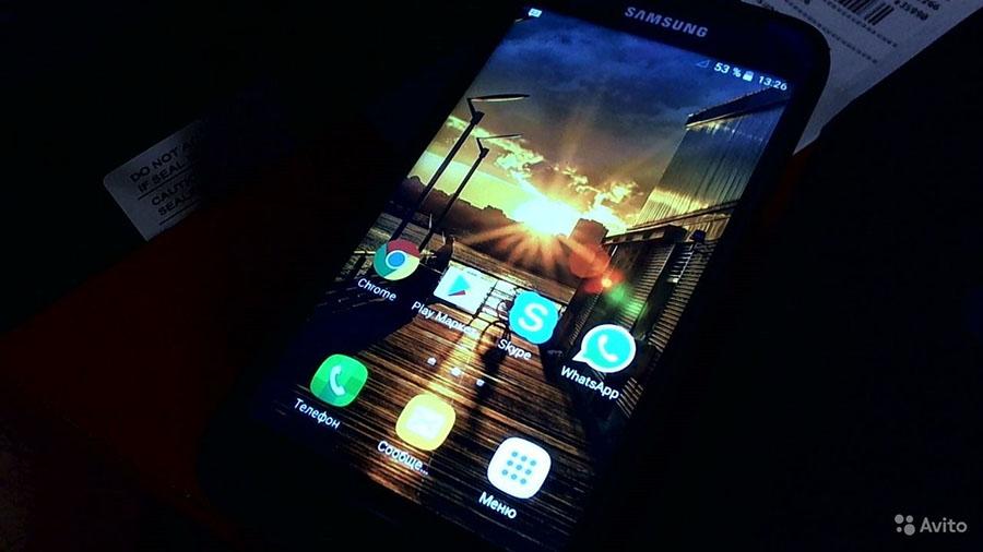 Экран подделки Samsung Galaxy S7