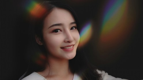 Example of photo from front camera of Xiaomi Mi MIX 3