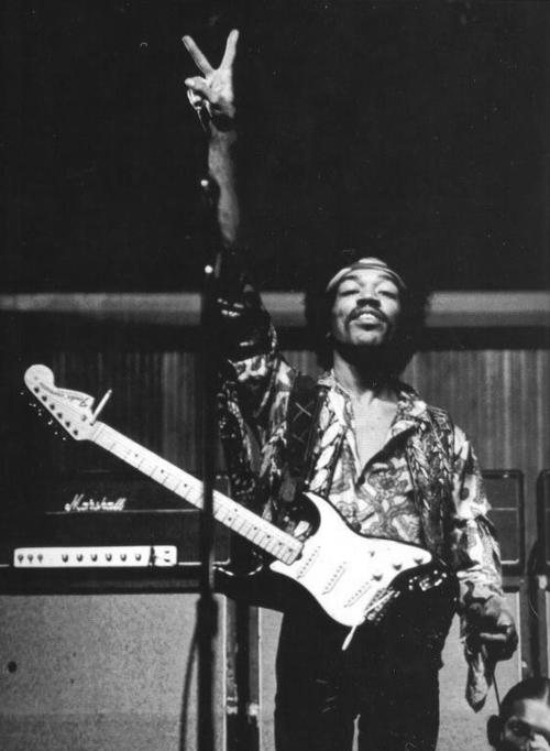 Jimi Hendrix выбирает Marshall AMP