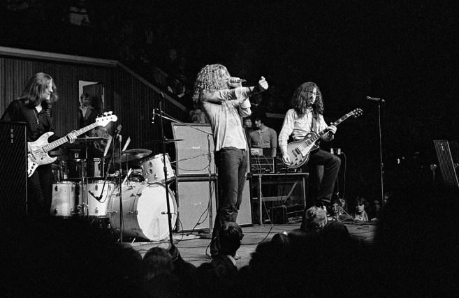 Led Zeppelin выбирает Marshall AMP