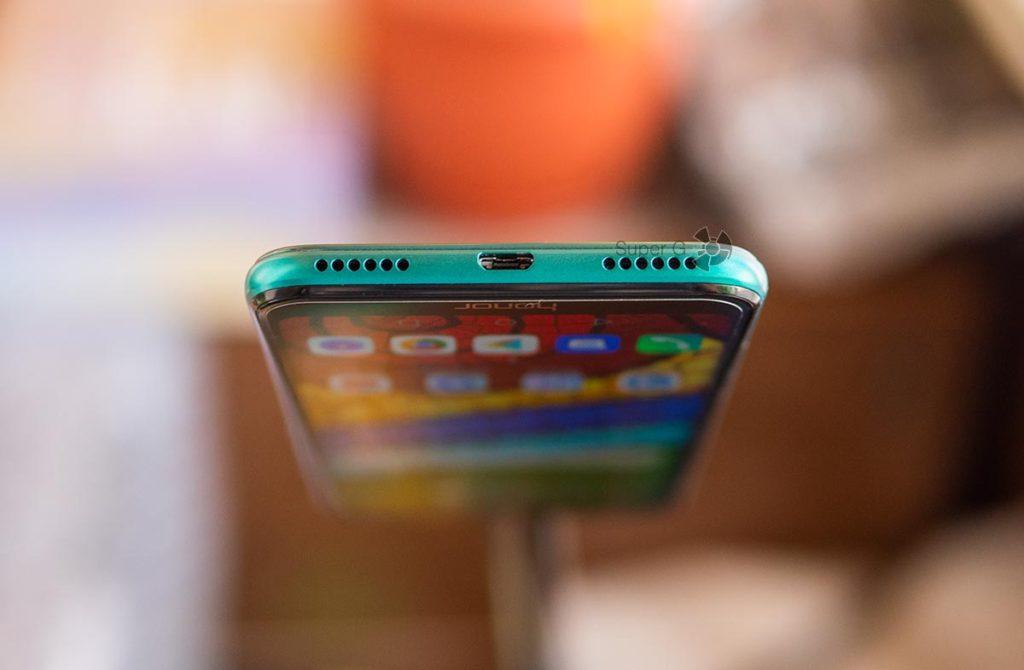 Разъёмы Huawei 8A Prime