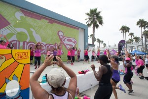 zumba on stage