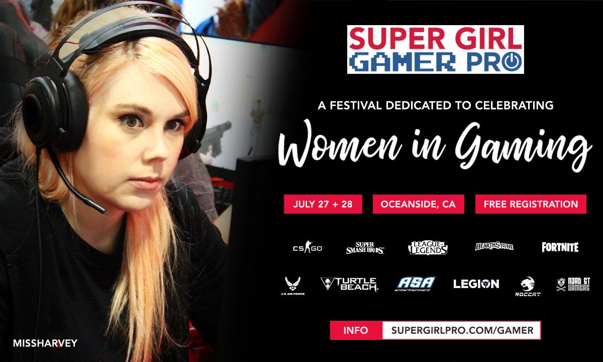 Super Girl Gamer Pro « ASA Entertainment Group, LLC