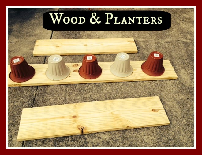 Wood & Planters