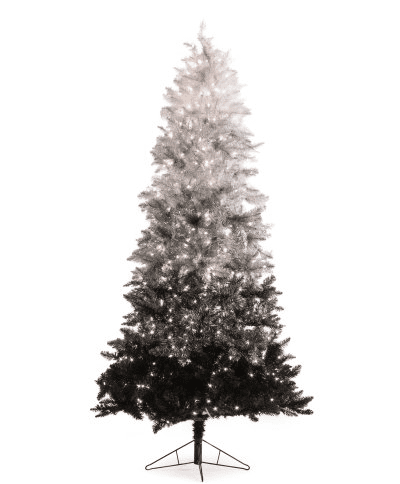 7.5 ft. Vintage Black Ombre Christmas Tree