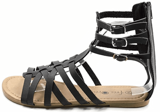Women's Strap Up Sandal - Amazon.com