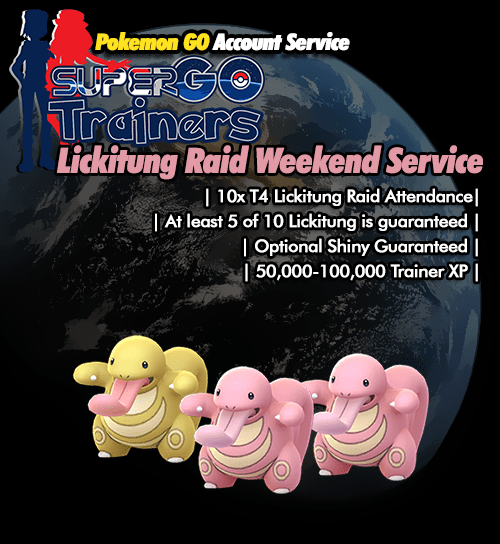 lickitung-raid-weekend-service