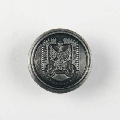Guzik polskich Sił Powietrznych kolor stare srebro śr. 16 mm