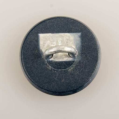 Policyjny guzik współczesny z orłem kolor szary śr. 22 mm (żywica)