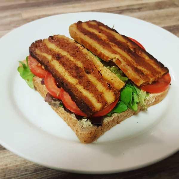 Seitan 'Bacon' Sandwich