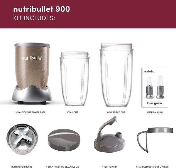Nutribullet 900W Blender Pack