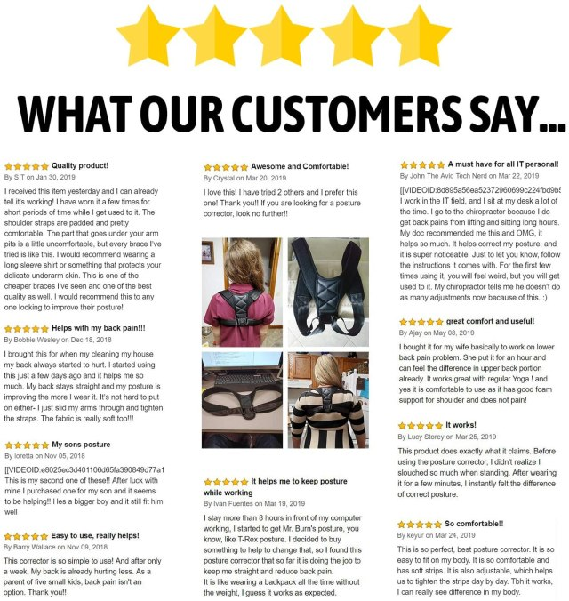 What Customer Says