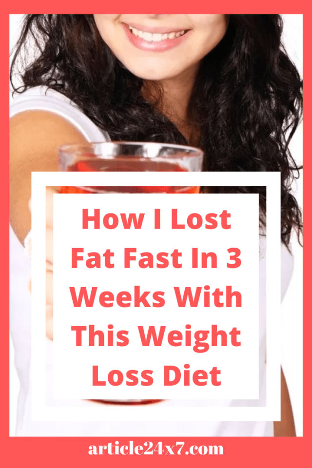 How I Lost Fat Fast