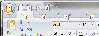 Screenshot - Microsoft Excel - Format Painter in the QAT