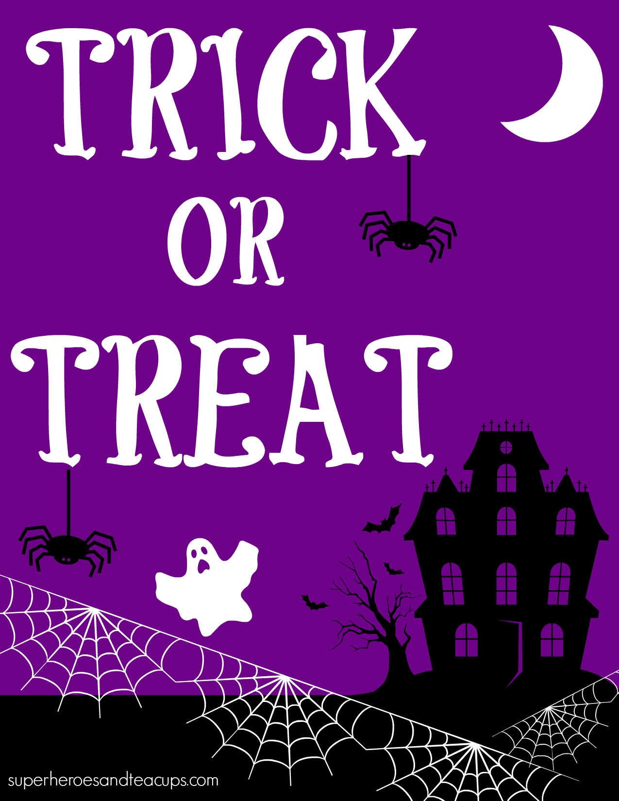 Free Printable Halloween Signs To Help Your Family Celebrate