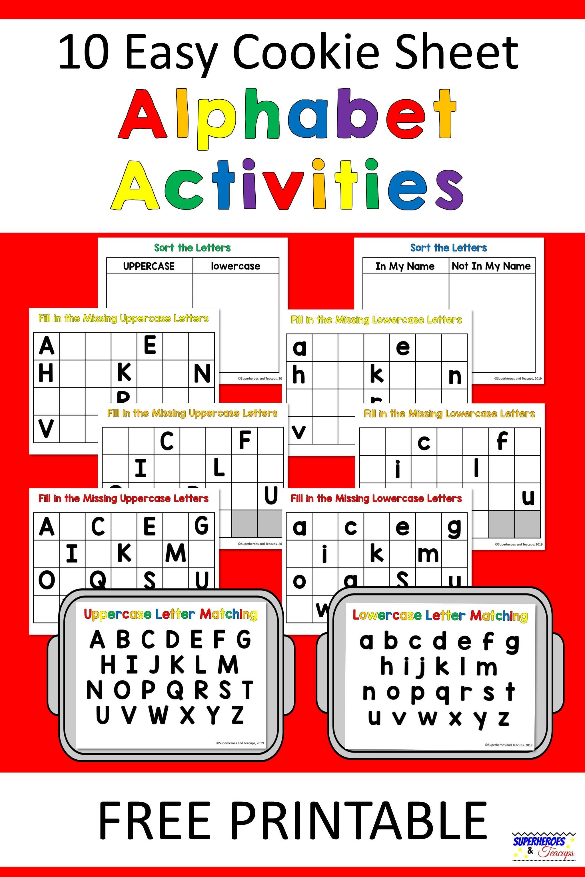 The Best Free Printable Lower Case Letters