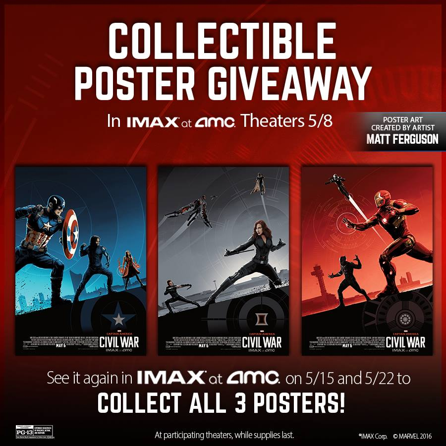 Imax star wars poster giveaways