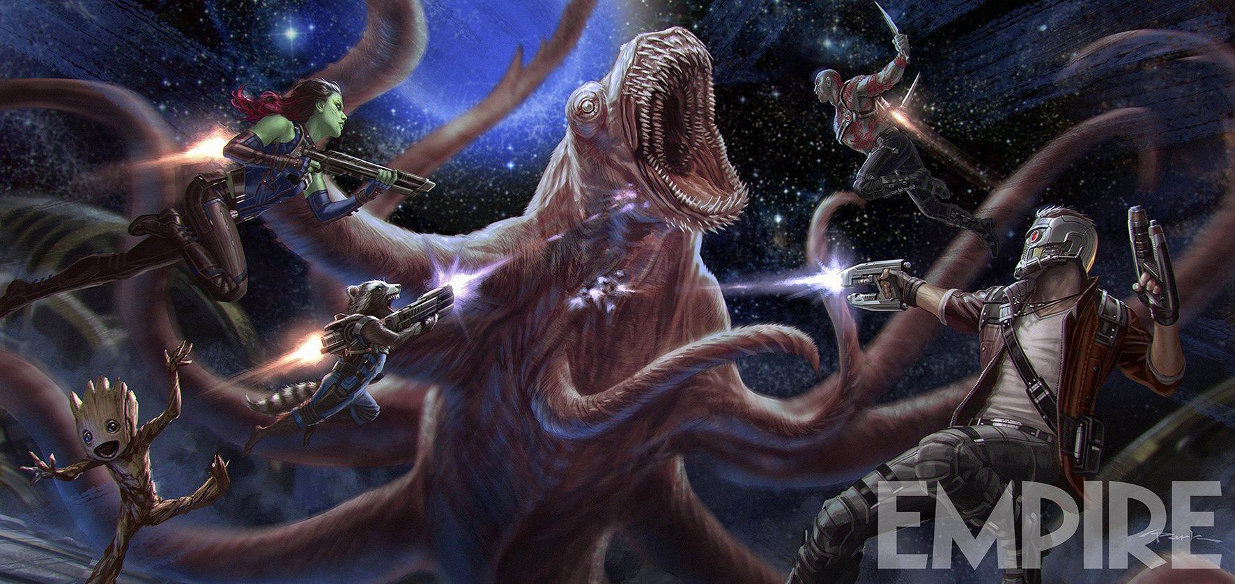guardians of the galaxy vol. 2 concept art