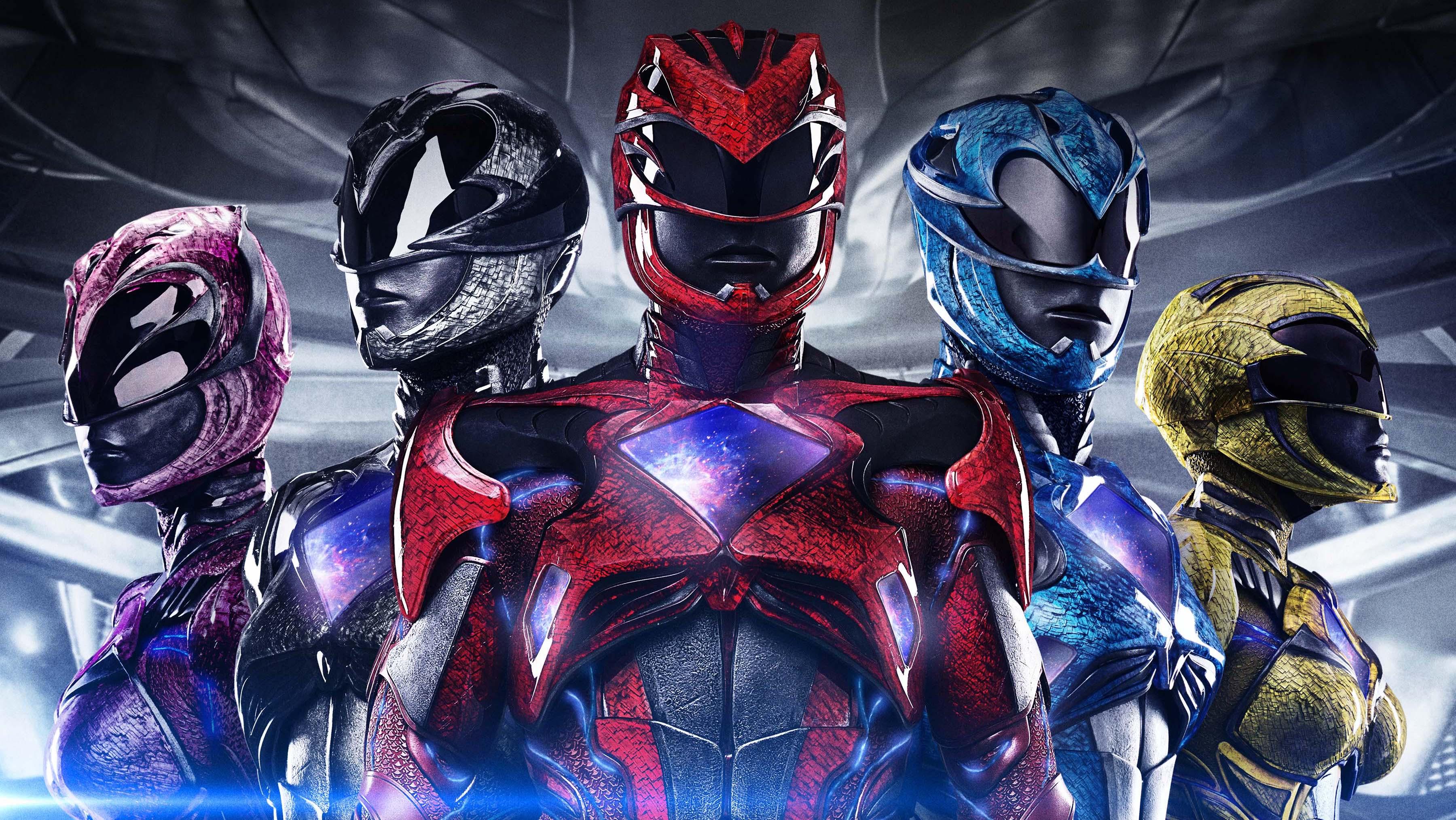 Power Rangers International Poster F