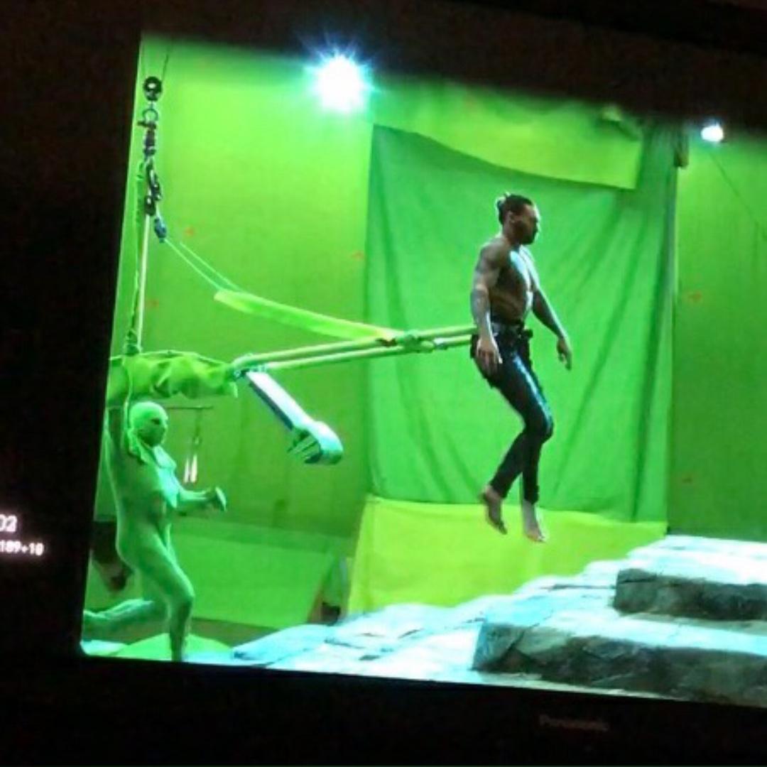 Aquaman Green Screen Justice League