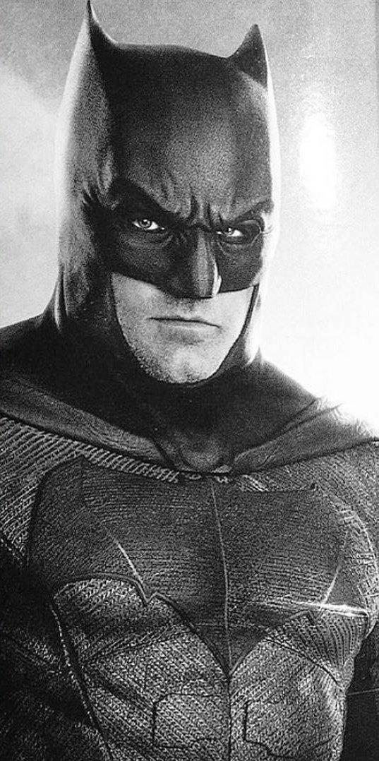 Ben Affleck Batman Justice League portrait