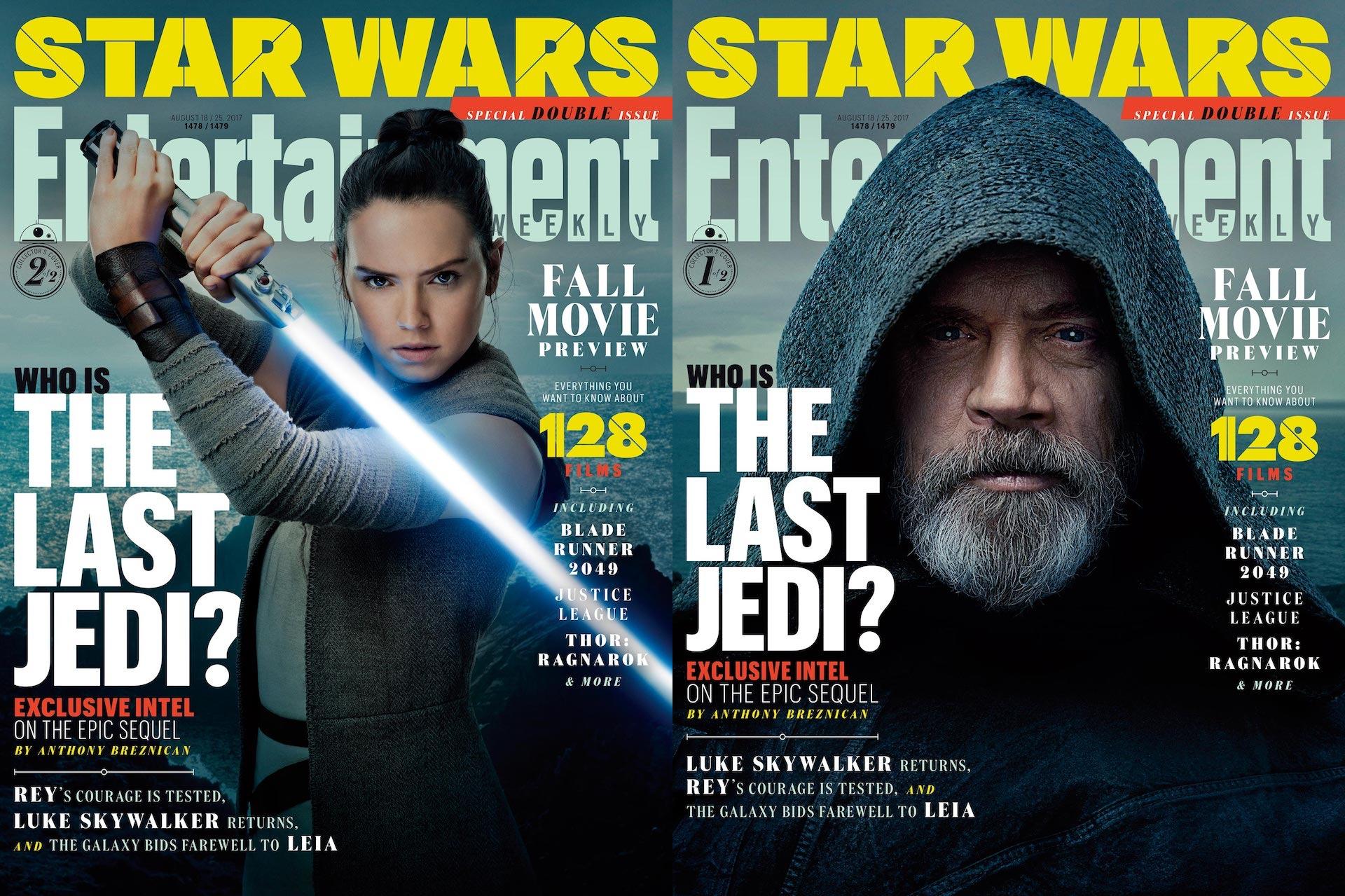 The Last Jedi EW Double Issue Fall
